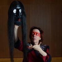 Le chant de l'ours - Muriel Berthelot- Masque Faux Visage- Musée Gallo Romain de St Romain en Gal