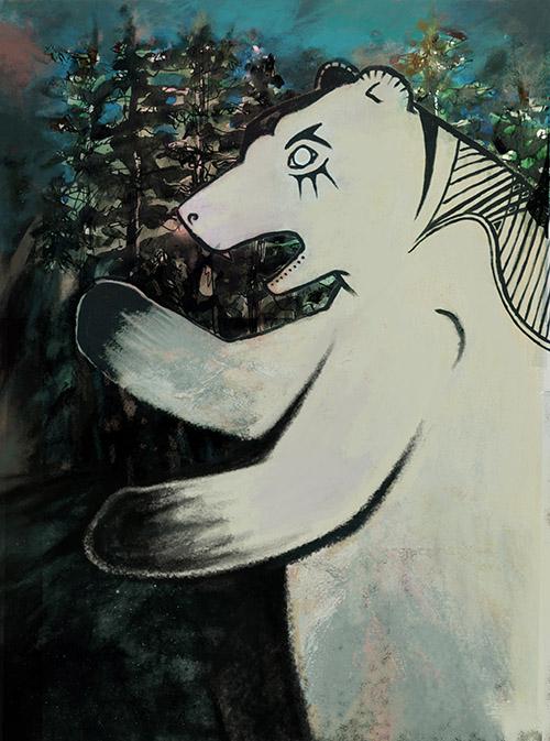 Affiche spectacle Le chant de L'ours